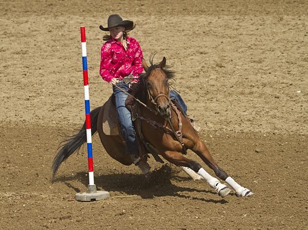 Avery Weatherman pole bending