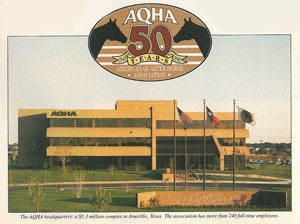 History Of The American Quarter Horse Association