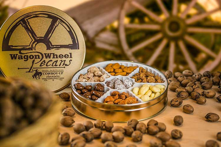 Cowboy Up Wagon Wheel Pecans