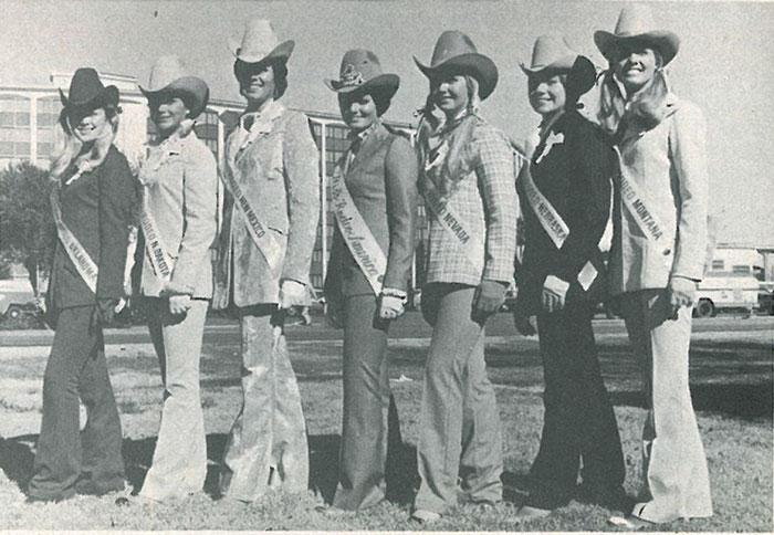 Flashback Miss Rodeo America Pageant 1973 Page 2 Of 3