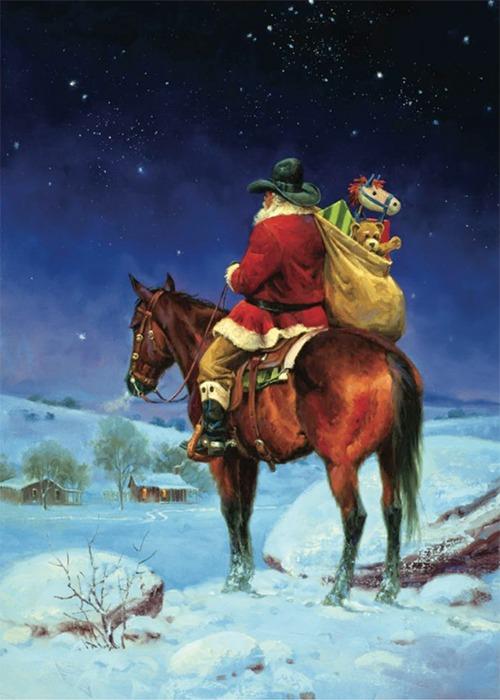 Cowboy Christmas Eve - Western Horseman