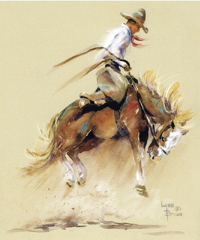 CowboyWatercolor