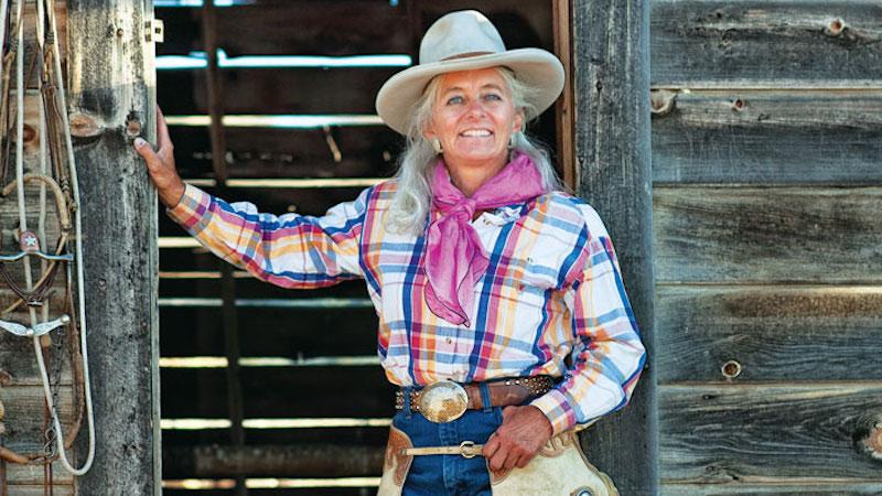 Lee McKinney standing in barn doorway