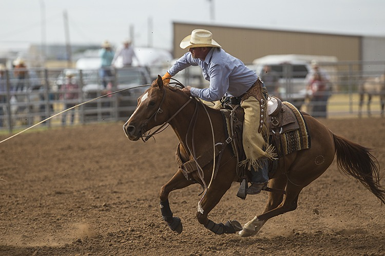 Mike Johnson and his teammates of Clymer Cattle won the 3-in-1 event.