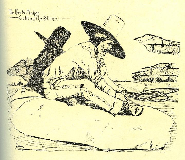 Illustration by Ed Borein.
