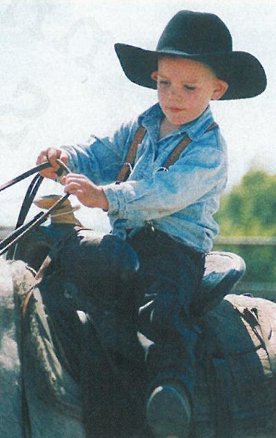 Cody Crockett and Baby Blue