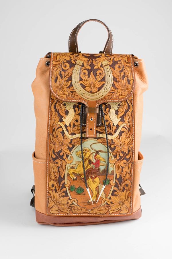 Backpack by Ashley Radzisauskas
