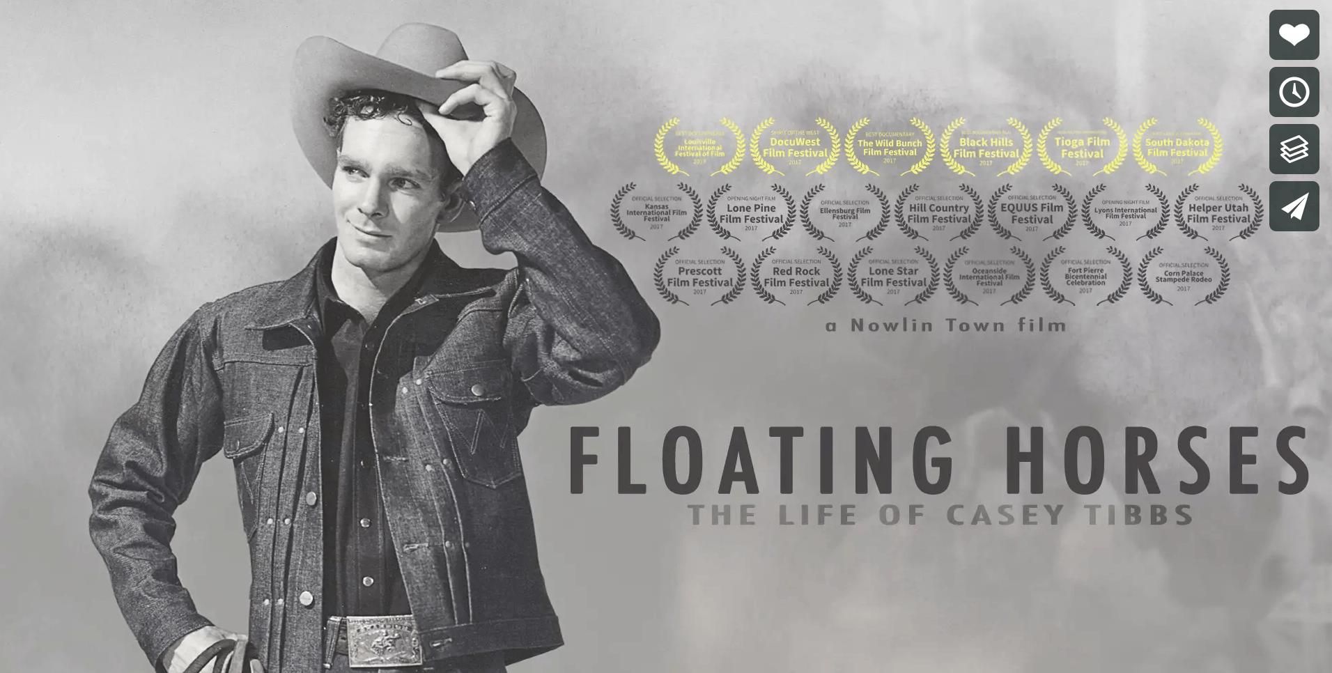 Floating Horses The Life Of Casey Tibbs Western Horseman