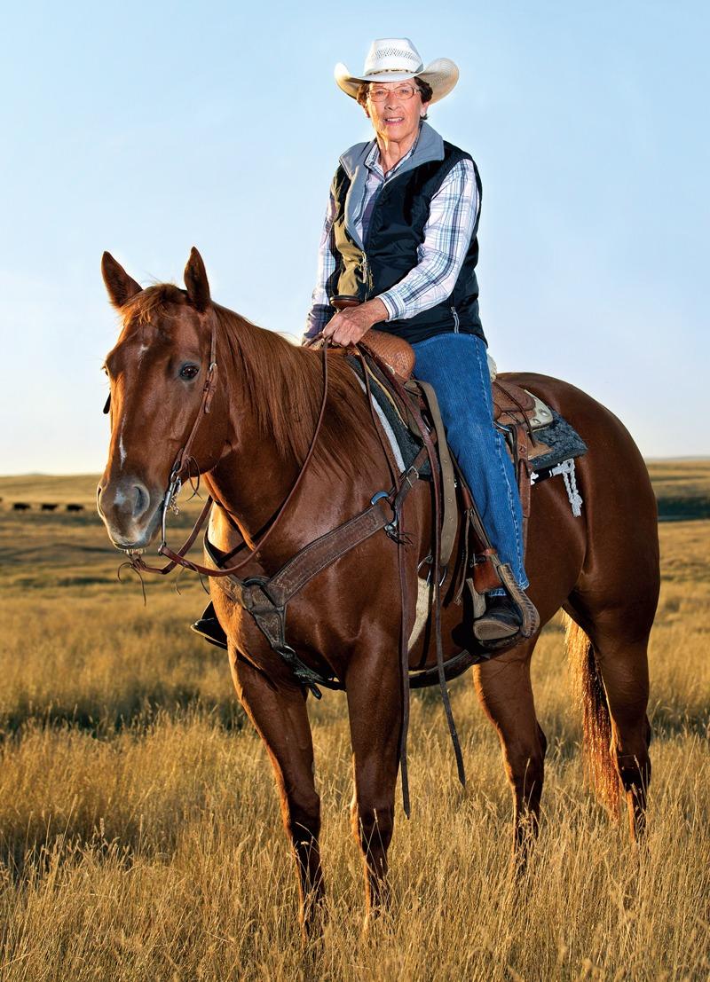 IrisDay on Horseback