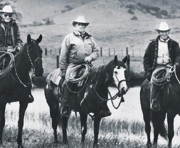 Bill Dorrance, Ray Hunt and Tom Dorrance
