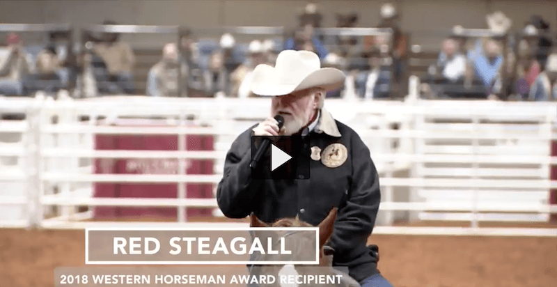 Red Steagall acceptance speech