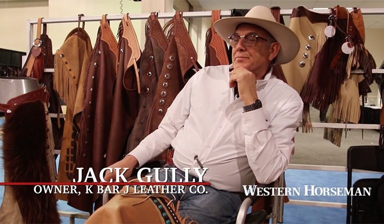 Jack Gully chaps tools of the trade