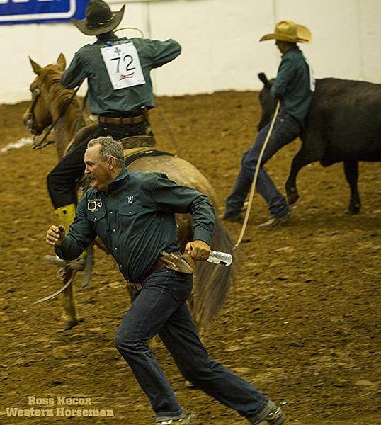 Jason Pelham of Spade Ranches is built more like a mugger than a milk runner. Nevertheless,