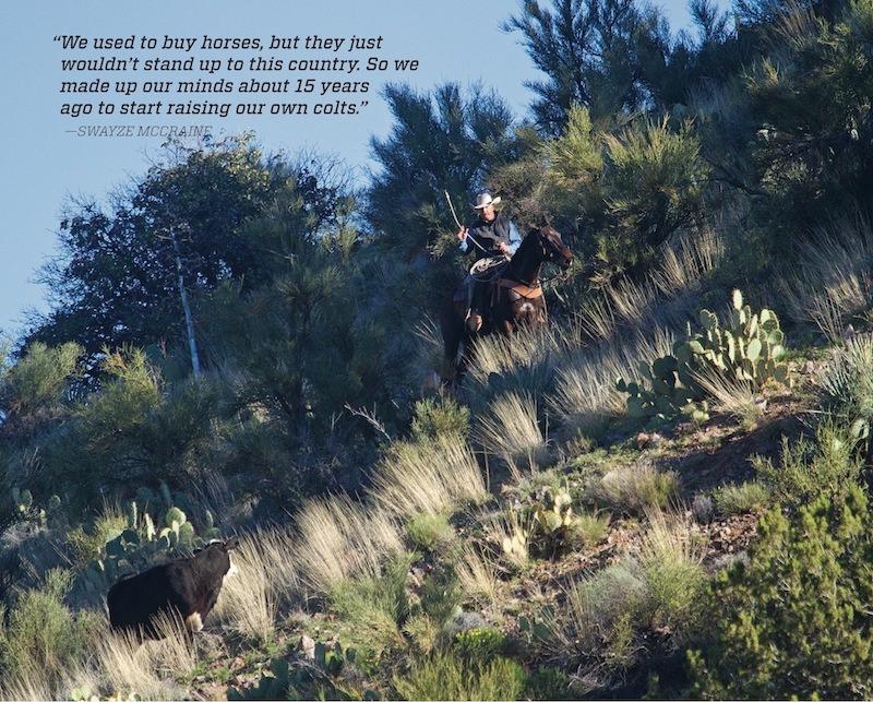 Kasun rides down hill