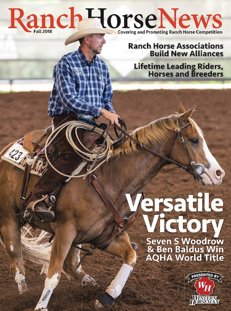 Ranch Horse News Fall 2018 Cover
