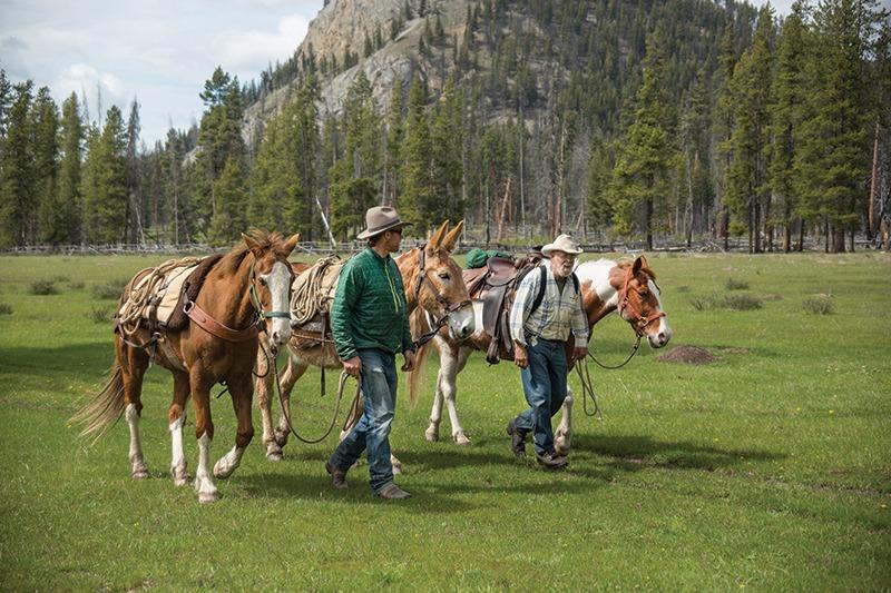 backcountry rangers Montana Bob Marshall Wilderness