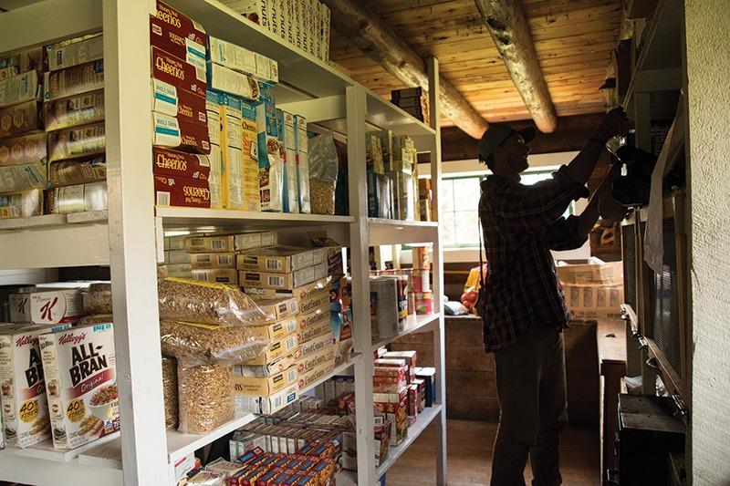 food pantry backcountry Montana