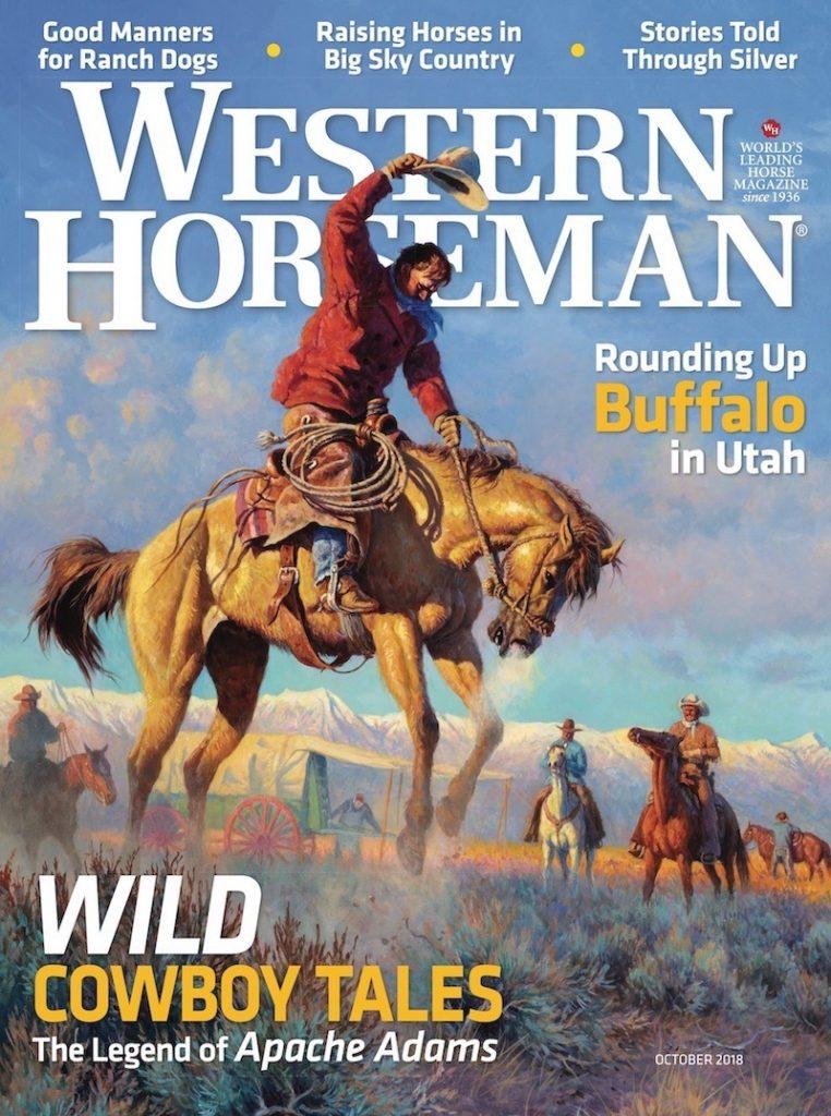 Western Horseman Magazine Cover October 2018