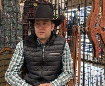 Clayton Edsall talks about reined cow horses