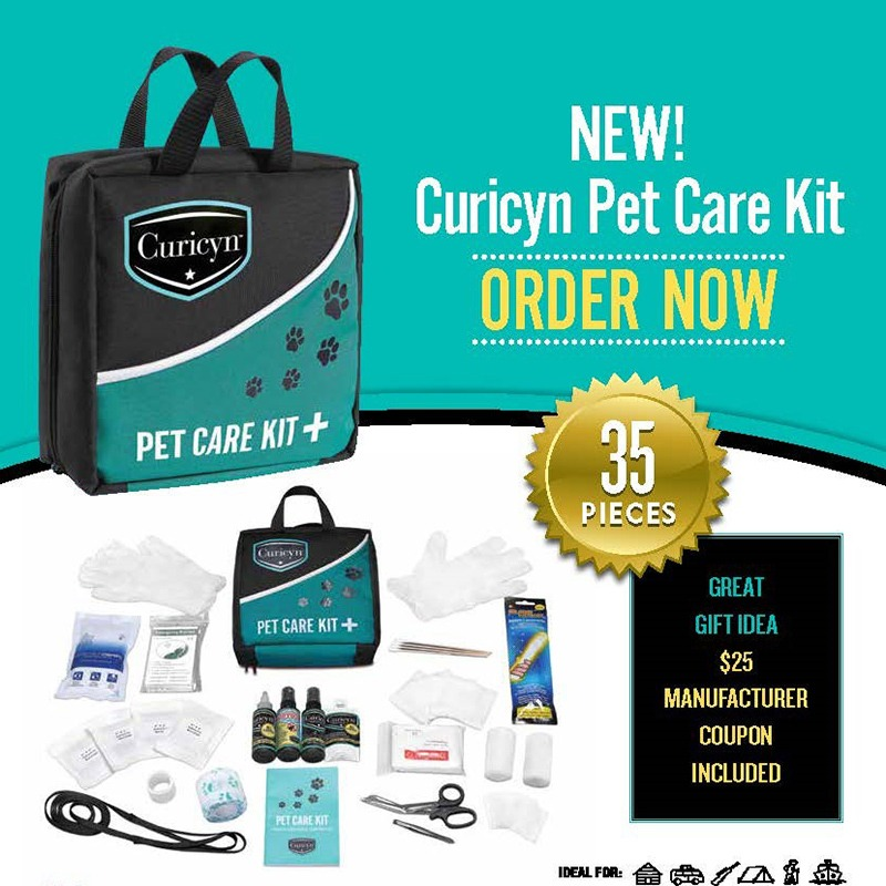Curicyn Pet Care Kit