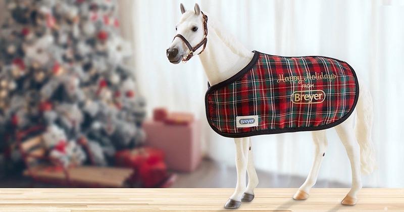Breyer snowman horse model