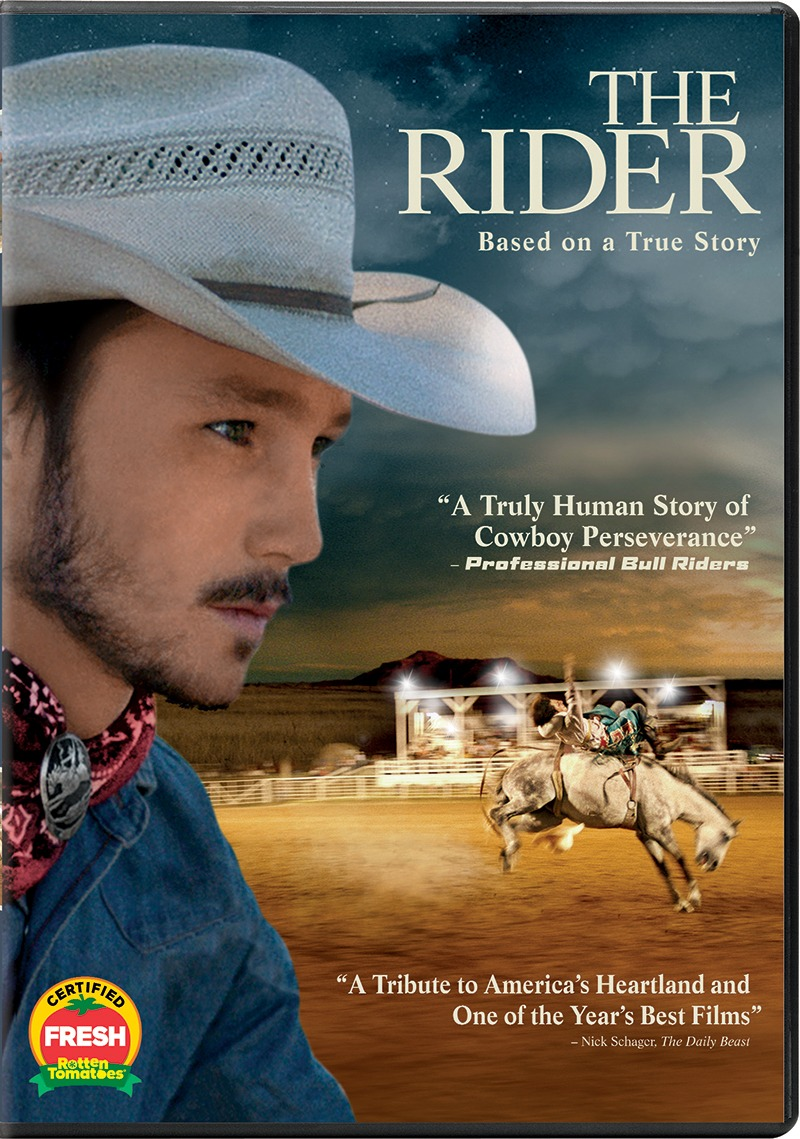 The Rider DVD cover
