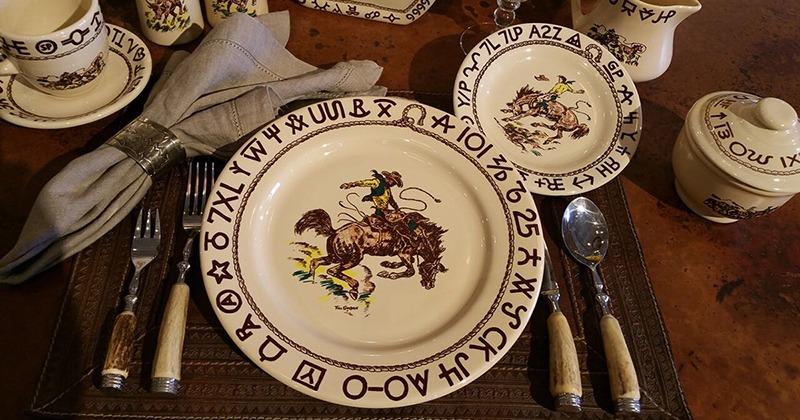 True West china plates