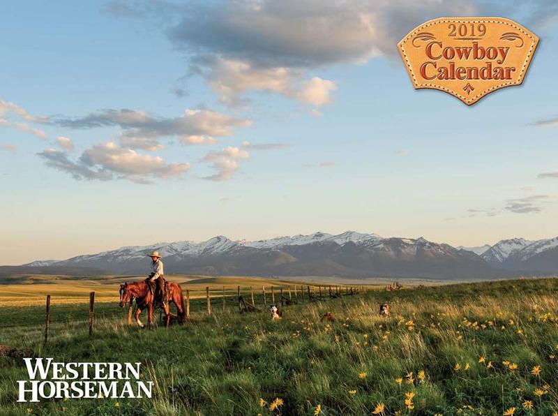 Western Horseman Cowboy Calendar