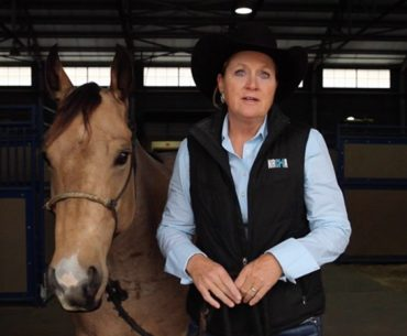 Jecca Ostrander talking about Box O Quarter Horses