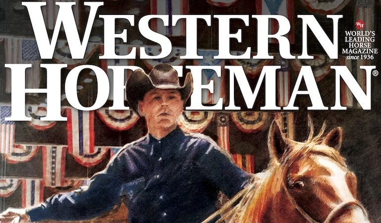 Western Horseman January Cover