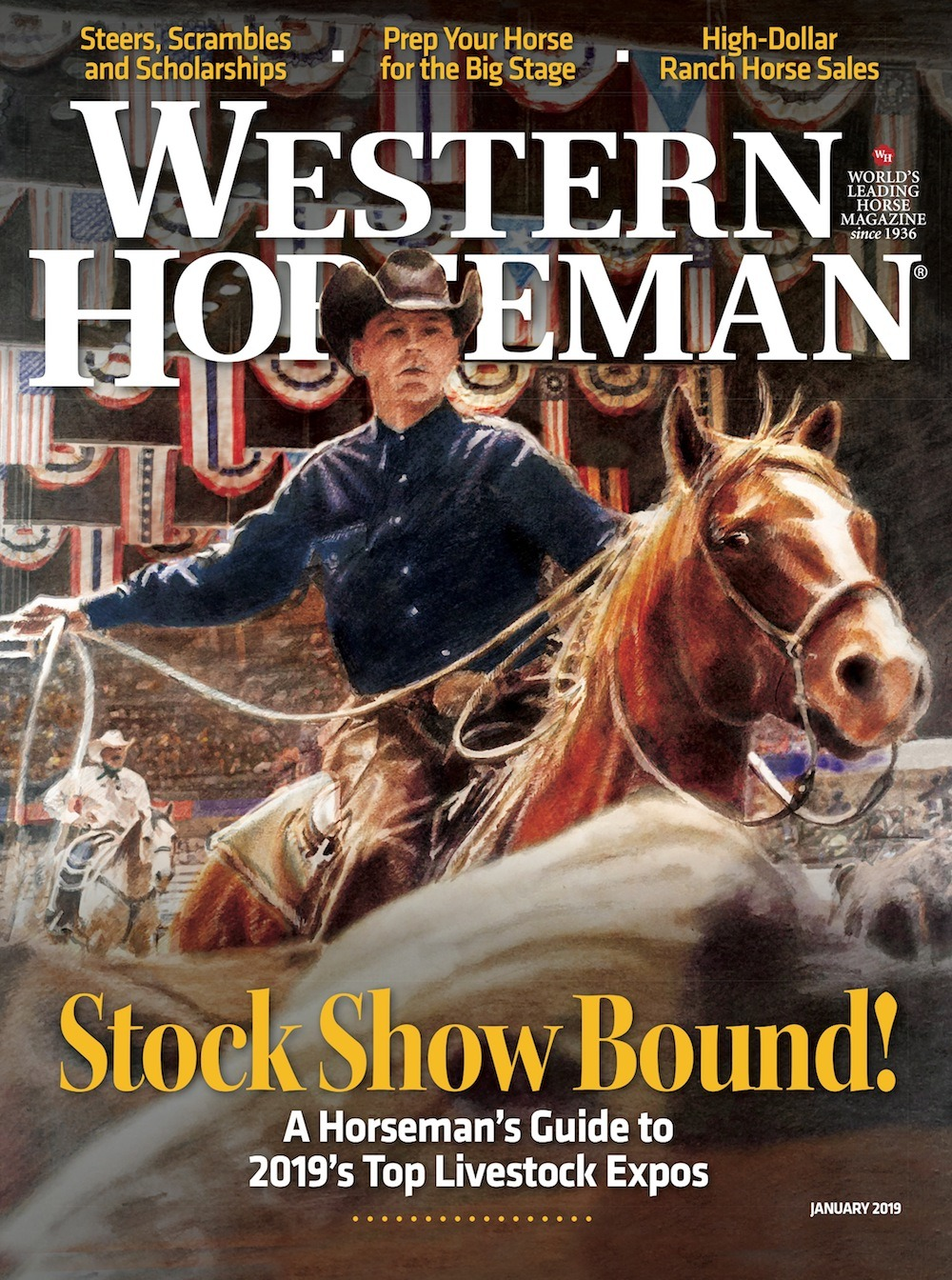 Western Horseman January 2019 issue cover