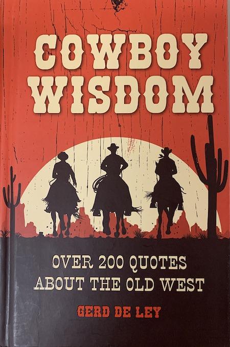 Cowboy Wisdom book cover