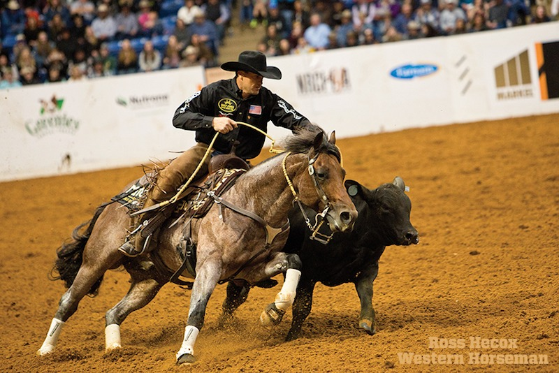 Phillip Ralls riding Call Me Mitch at World's Greatest Horseman