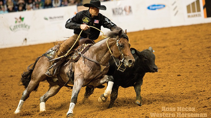 Phillip Ralls riding Call Me Mitch in World's Greatest Horseman