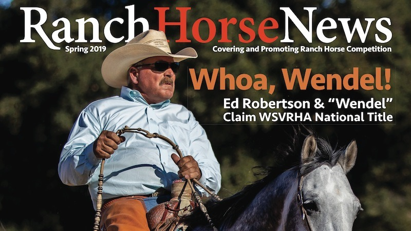 Ranch Horse News Spring 2019 Cover