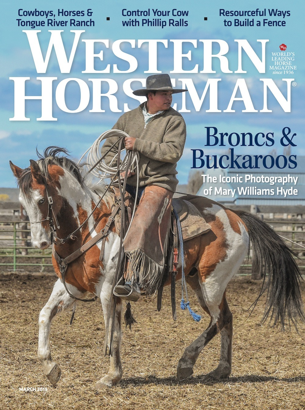 Western Horseman March 2019 Magazine Cover