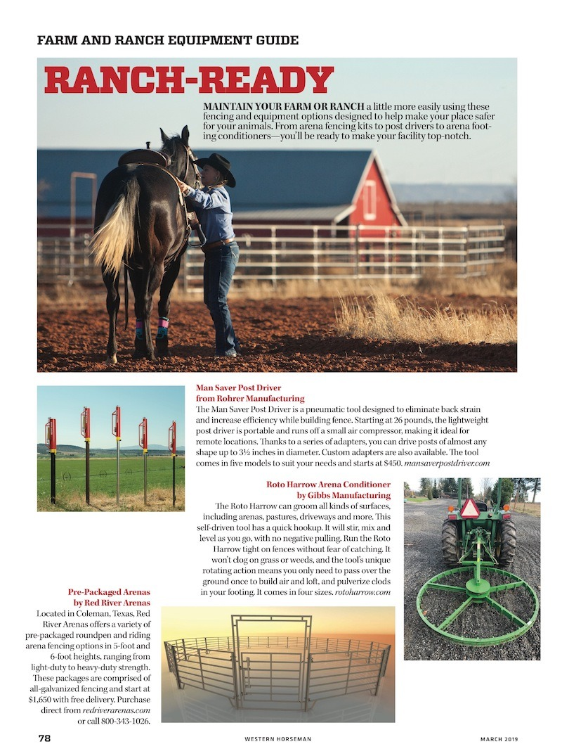 Western Horseman Special Advertising Section