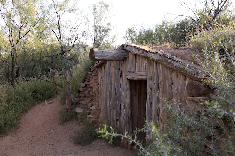 Palo Duro Canyon dugout
