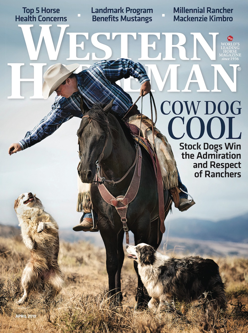 Western Horseman magazine April cover