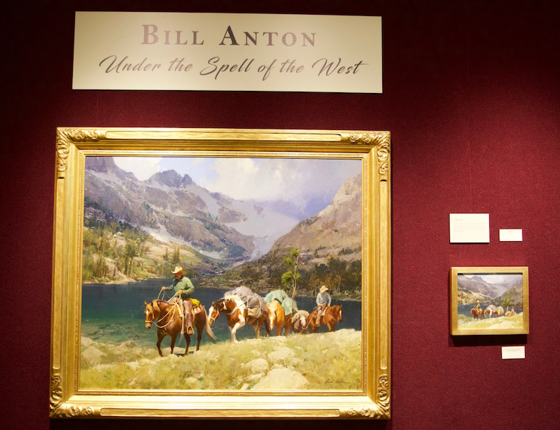 Bill Anton's Under the Spell of the West painting