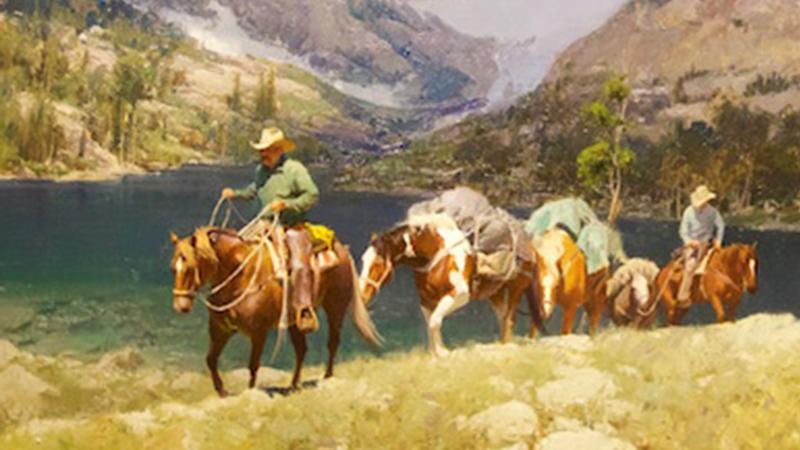 Bill Anton's oil painting