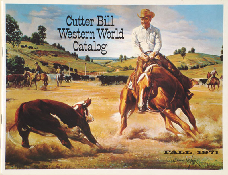 cover of Cutter Bill Western World Catalog