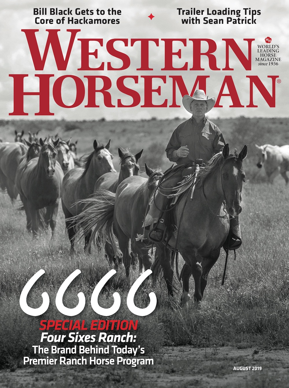 Western Horseman magazine cover July 2019 6666 Ranch issue