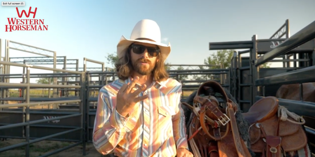 Dale Brisby talks about going from punching to ranch bronc riding