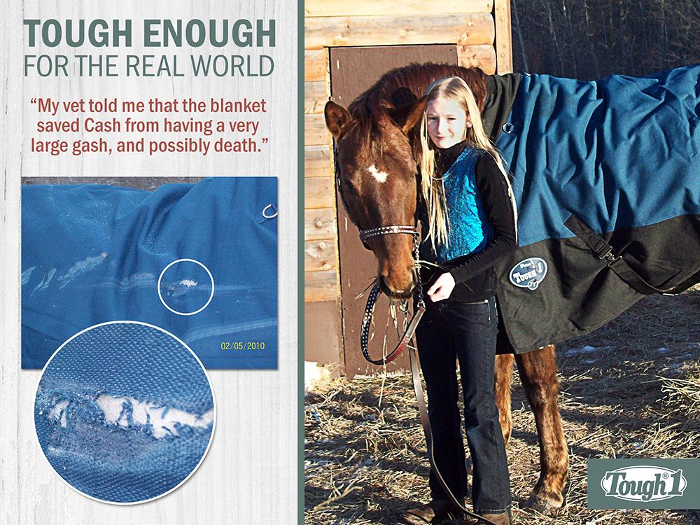 Tough 1 horse blanket