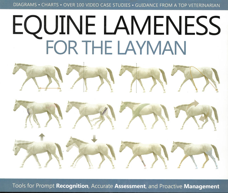 New released book Equine Lameness for the Layman has diagrams, charts, case studies and guidance from top veterinarians.