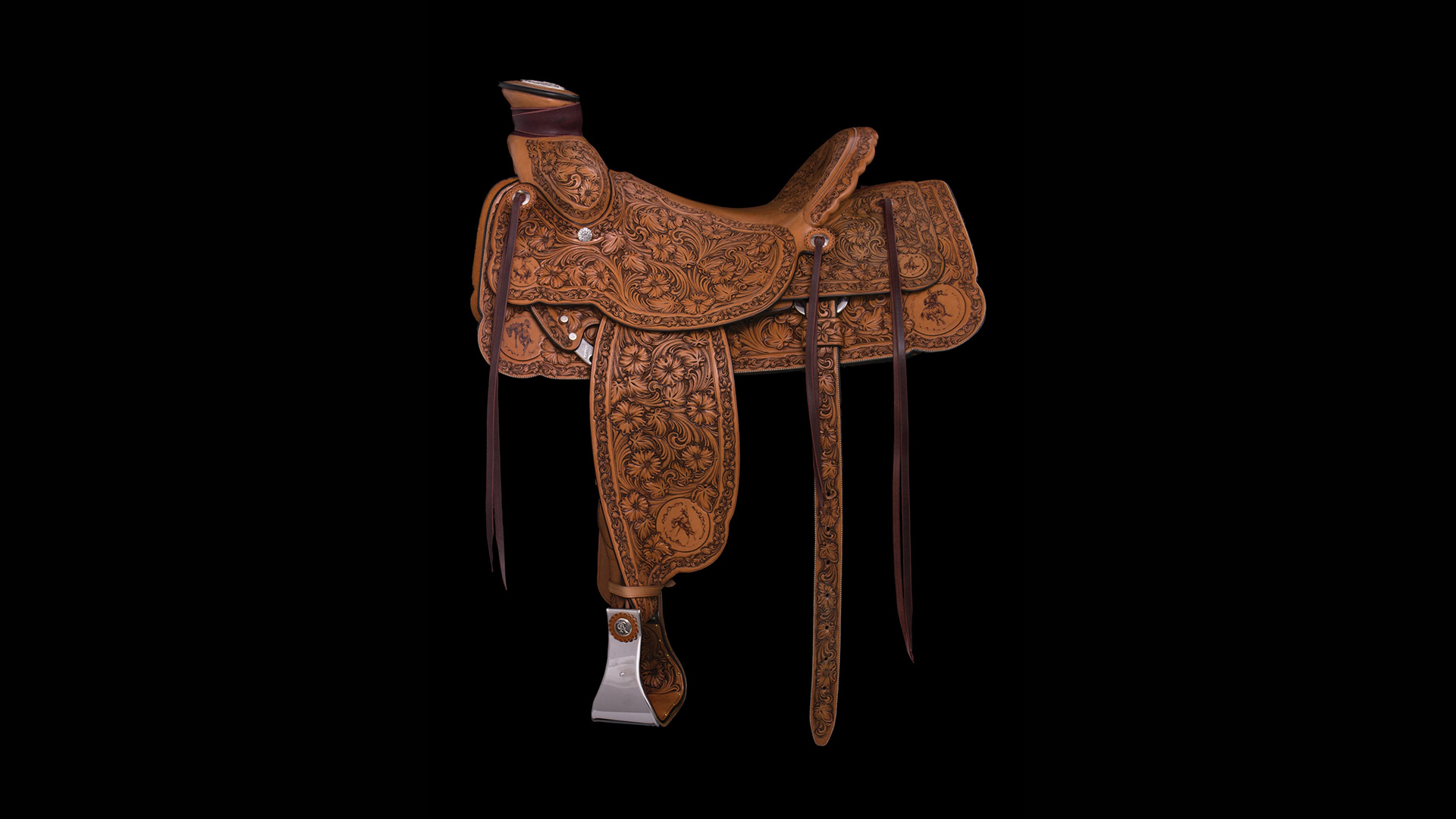John Willemsma's saddle at TCA Exhibition & Sale