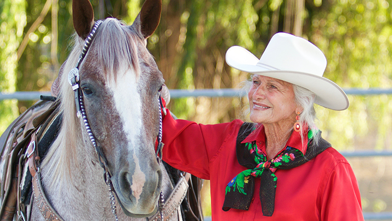 Cowgirl Audrey Griffin is featured in the November 2019 issue of Western Horseman.
