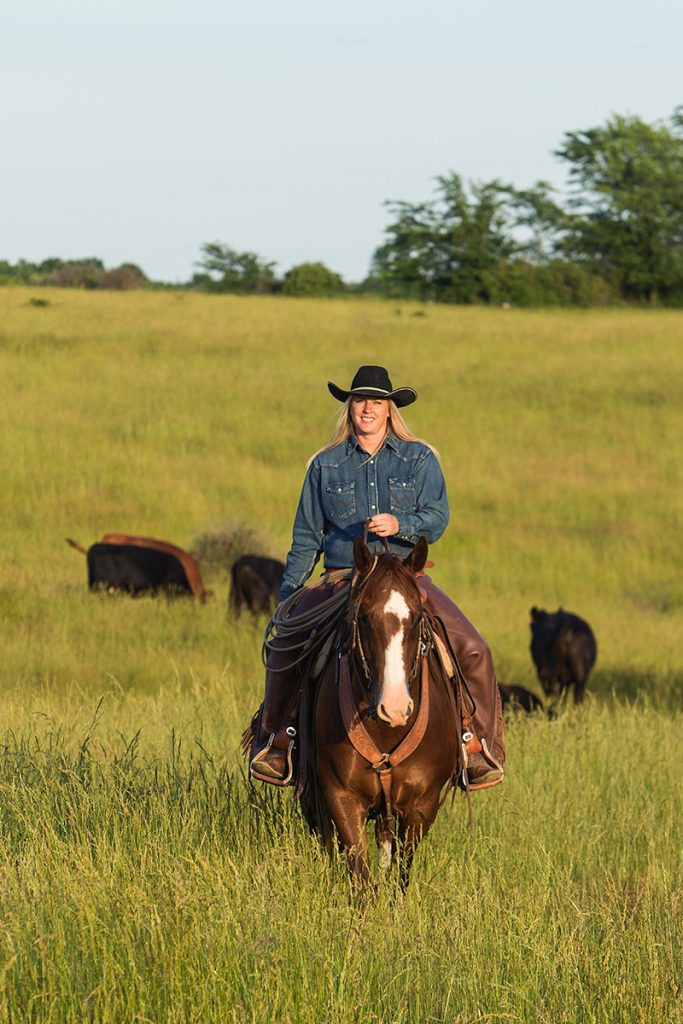 Brandi Shannon has several calving memories on her Missouri ranch.