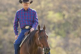 Greg Darnall's experience riding horses has helped him refine the craft of making bits.